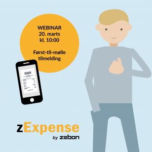 Skal du med til zExpense-webinar 20. marts?